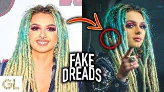 Zhavia's Fake Dreadlocks