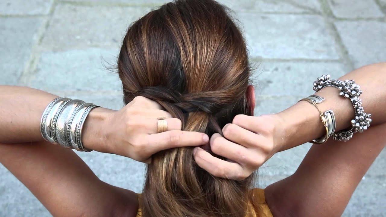 Hairdo Fishtail Braid - YouTube