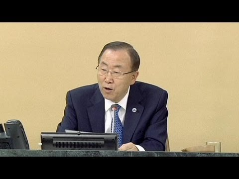 Ban Ki-moon calls for more effort from UN diplomats over Syria crisis