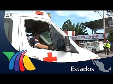 Accidente automovilístico frente a CBTIs 158 | Noticias de Chihuahua