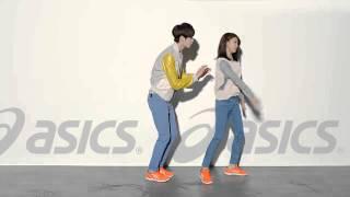 Ha Ji Won & Lee Jung Suk Dancing With Asics G1 Orange