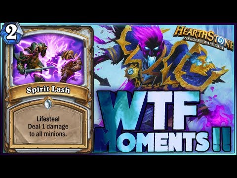 COMEBACK!! - WTF MOMENTS!! - Hearthstone Funny and lucky Rng Moments