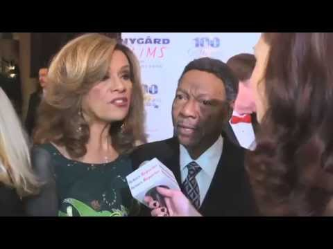 Marilyn McCoo and Billy Davis Jr at Night of 100 Stars 2014 by Actors Reporter