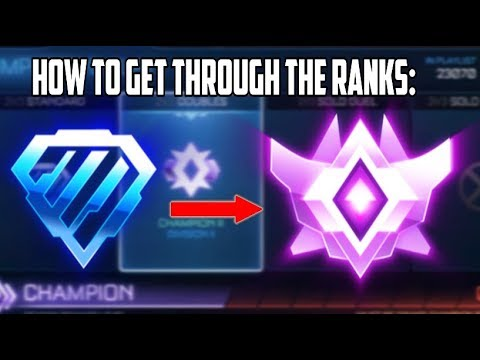 Tips to go from Diamond to Champ 2+ | Rocket League