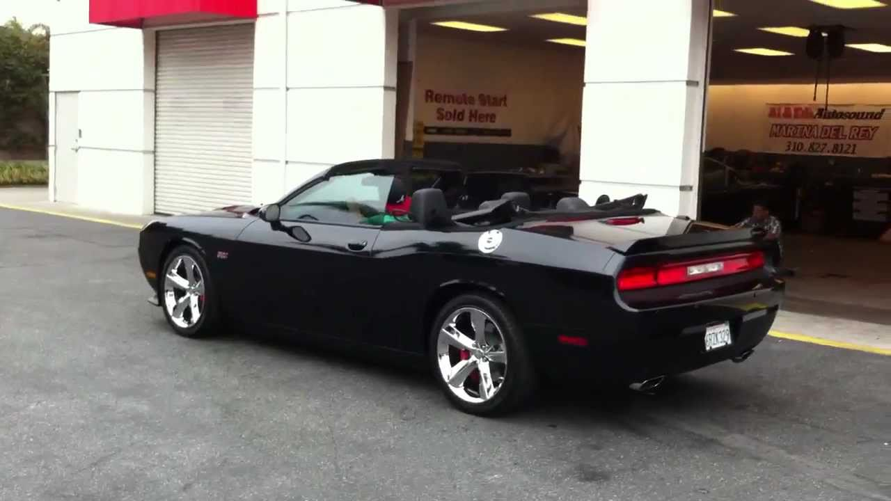 dodge challenger convertible top conversion al eds marina nce youtube