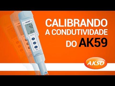 Calibrando a condutividade do AK59