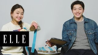#ShibSibs Maia and Alex Shibutani Play A Game of 'Who Knows Who Best?' | ELLE