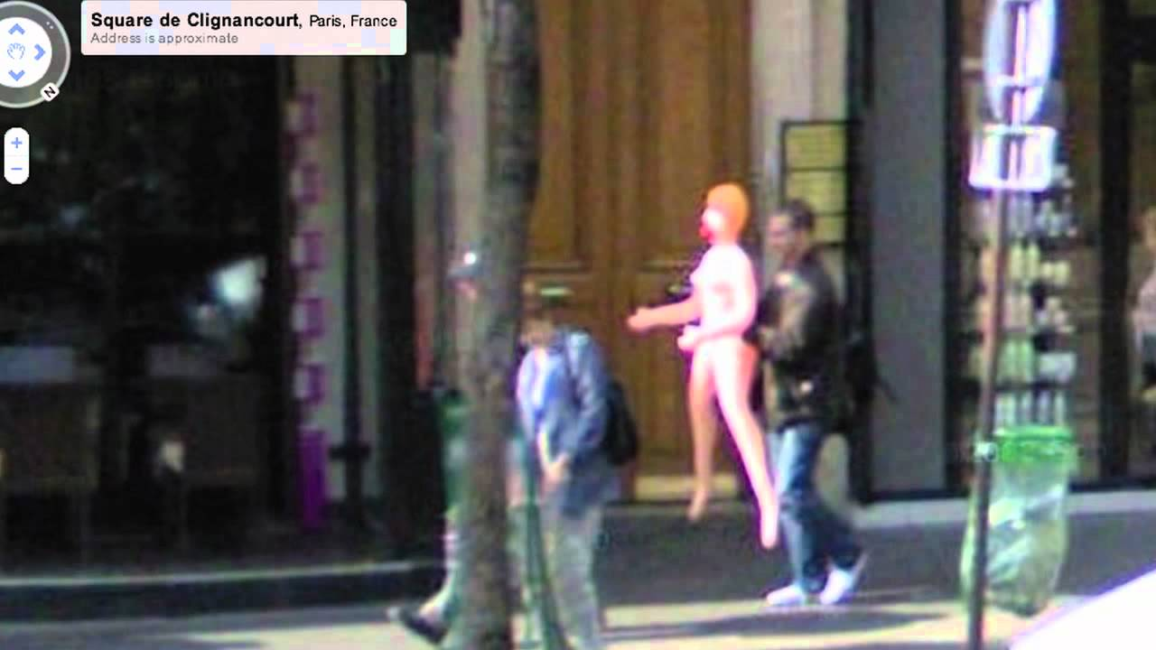 Google Street View Catches Bizarre Moments Youtube
