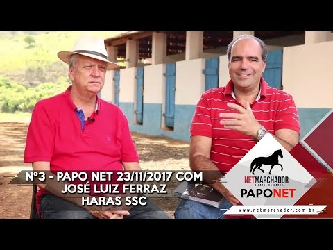 #3 PAPO NET - NET MARCHADOR - COM JOSÉ LUIZ FERRAZ - MANGALARGA MARCHADOR