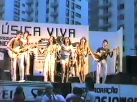 Banda Grafite- 1o Show 1982 Música Viva