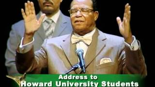 Address to Howard University Students part 1 of 2 4 02 11