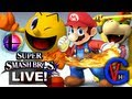 Super Smash Bros. Wii U / 3DS LIVE New Characters Discussion (N64 Game Throwback Night)