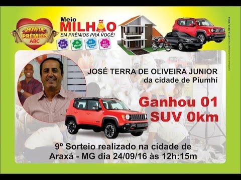 Show de Prêmios ABC - Ganhador da SUV