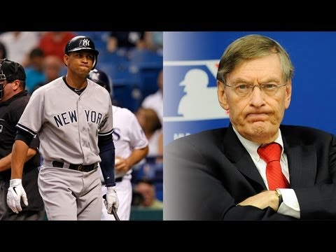 MLB bans 13 players, only A-Rod still in denial