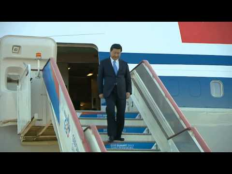China's Xi Jinping jets into G20