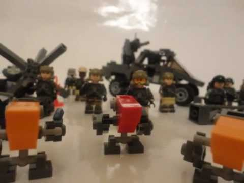 Lego Halo Reach; Vehicles, Equipment, and Minifigures