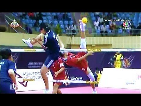 ISTAF Super Series 2013/14 Women's Final [INDONESIA - THAILAND] SET 3-4
