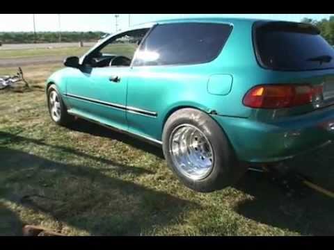 V8 powered honda civic hatchback nopi new for V8 honda civic
