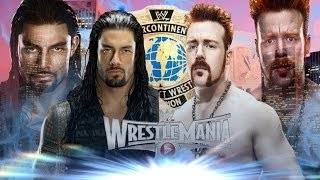 WWE WrestleMania 31 Dream Match Card v2