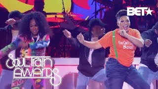 Tisha Campbell and Tichina Arnold Revive the '90s With Their Medley Tribute | Soul Train Awards 2018