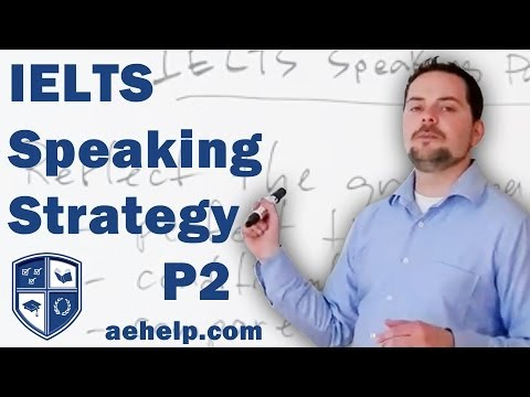 IELTS Speaking Section Part 3 General Strategies and Techniques