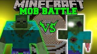 MUTANT ZOMBIE VS ERODED ZOMBIE Minecraft Mob Battles Mods
