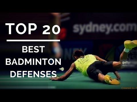 TOP 20 BEST BADMINTON DEFENSE