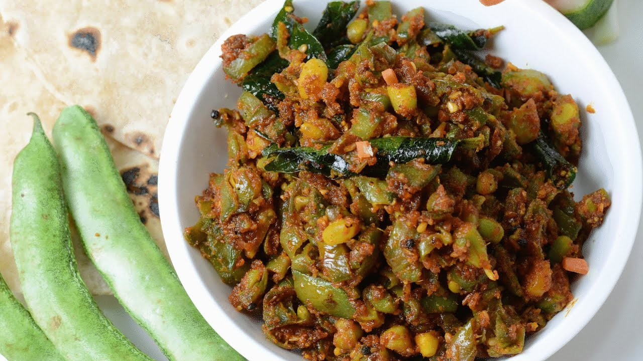 Green Beans with Sesame Seed masala - By Vahchef @ vahrehvah.com ...