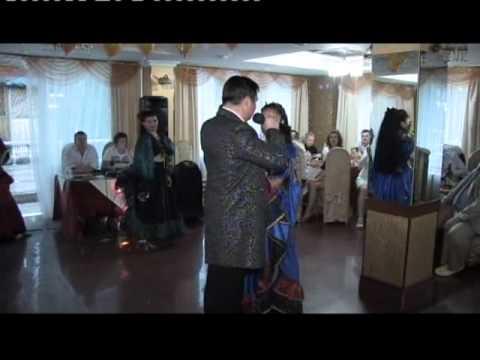 Образец проведения свадьбы. Ведущий - Дмитрий Гордеевцев, артисты - театр танца АИША