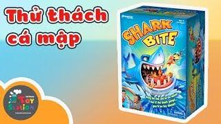 Thử thách Cá Mập cùng Anh Khoai Tây và Chị Lily ToyStation 157