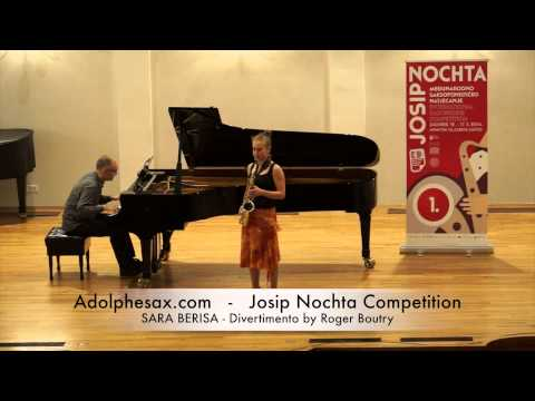 Josip Nochta Competition SARA BERISA Divertimento by Roger Boutry