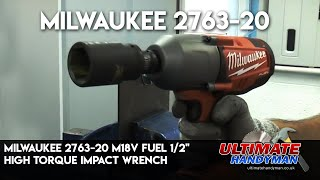 Milwaukee FUEL 18v impact wrench review