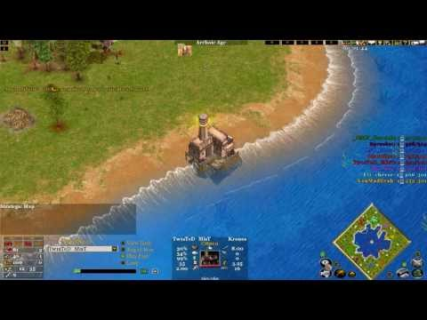 Age of mythology the TITANS 4V4 online match