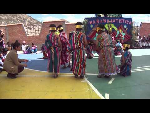 Inauguracion del nuevo colegio de vitichi potosi bolivia Part2
