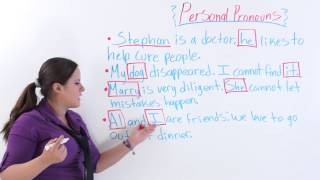 Personal Pronouns, English Grammar