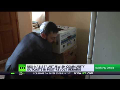 Rabbi in Crimea urges Jews to leave Ukraine, fears neo-Nazi attacks