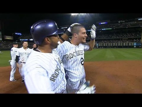 Arenado smacks walk-off double for the win