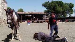 [dead in far west stuntman fallen] Video