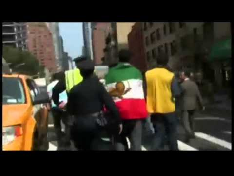 More footage of Mehmanparast incident in New York September 26, 2012