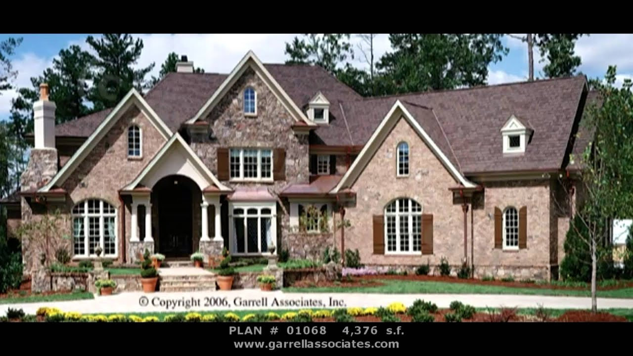 normandy style house plans part 1 by garrell associates