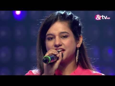 Neha Khankriyal - Performance - Blind Auditions Episode 1 - December 10, 2016 - The Voice India Season 2