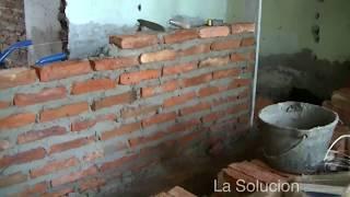 Construcción de una pared divisoria