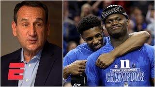 Coach K: 1986 Duke basketball team set foundation for Zion, RJ Barrett | ACC Network