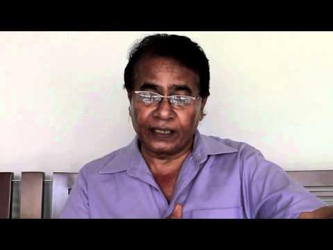 ''Nelum Pokuna'' - Interview with Dharmasiri Bandaranayake
