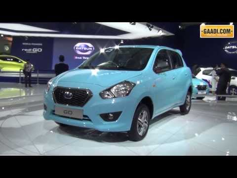 Datsun Go Unveil at Auto Expo 2014