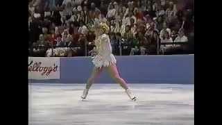 Tonya Harding 1991 Skate America Exhibition Triple Axel