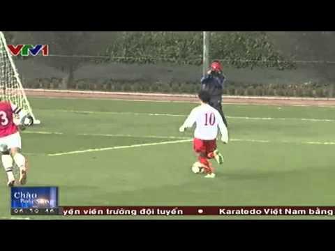 Bóng Đá   U19 Việt Nam thắng U19 Arsenal