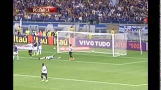Bancada analisa gol anulado do Cruzeiro