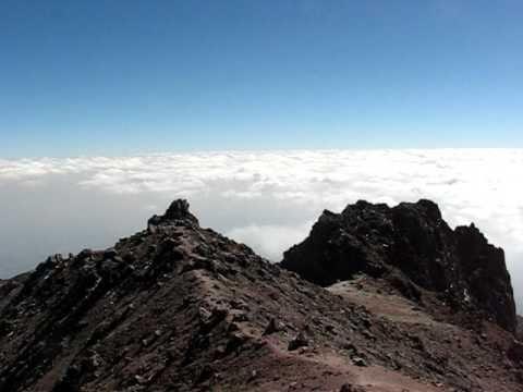 At the summit of La Malinche volcano - Tlaxcala, Mexico