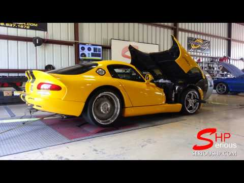 Paxton Supercharged VIPER GTS SHP Engine Tuning 666Rwhp Houston
